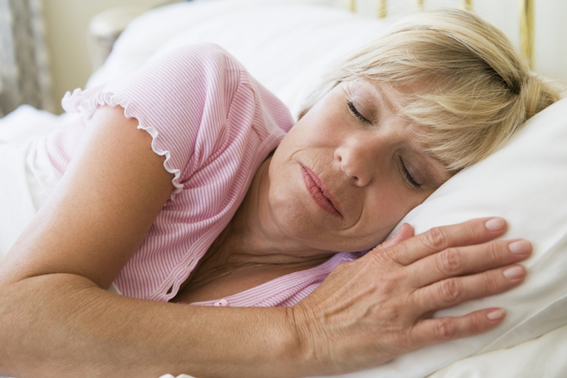 Bioidentical hormone therapy can improve your sleeping patterns.